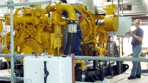1.5 MW biogas engine generator set by Topec of The Netherlands